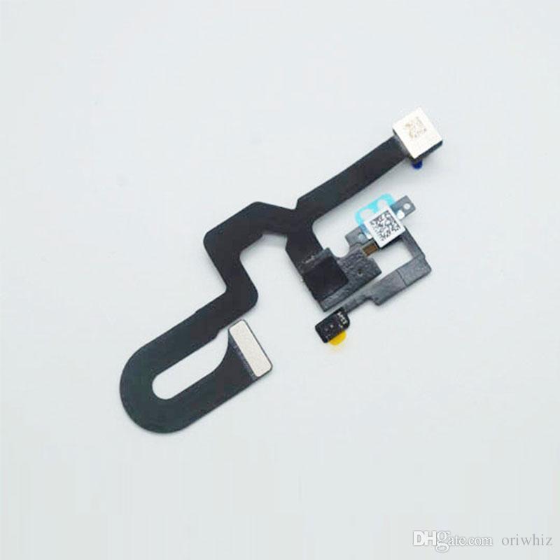 ORIWHIZ Caméra de recul avec câble de remplacement Qualité supérieure pour iPhone 7 7G 7 Plus LCD Pièces de rechange Capteur Proximité Lumière