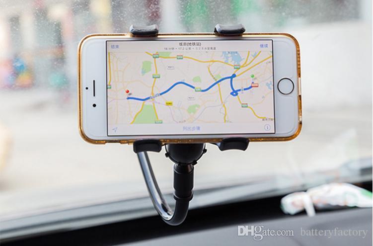 Bionanosky العالمي 360 درجة في سيارة الزجاج الأمامي لوحة داش حامل جبل حامل لفون سامسونج GPS PDA موبايل تليفون الأسود DB-024