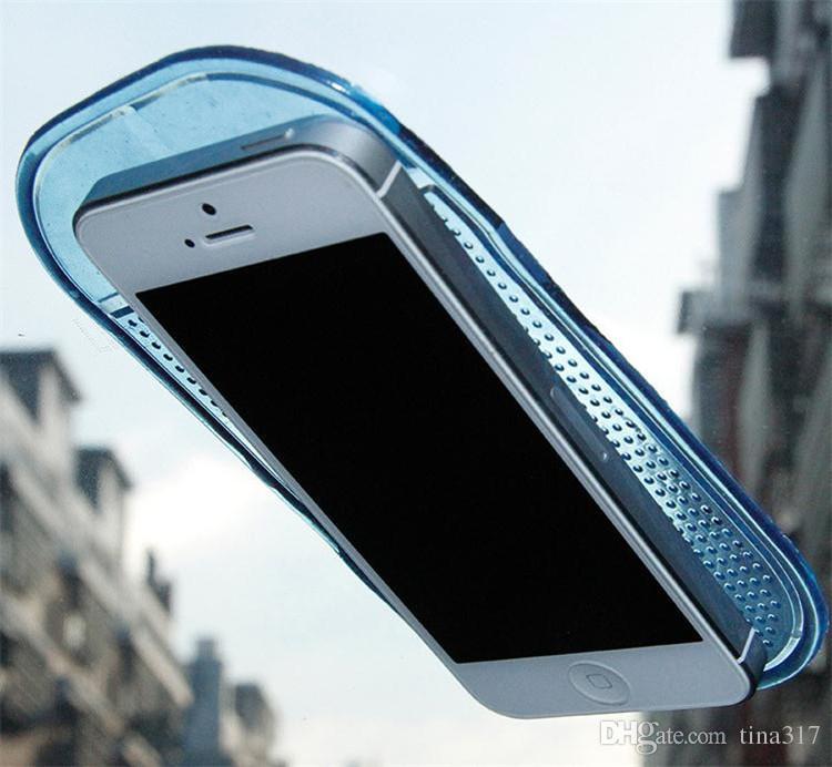 Esteira do carro Almofada Pegajosa aranha carro antiderrapante tapete de silicone deslizamento do telefone móvel PU tapete anti-derrapante B0031