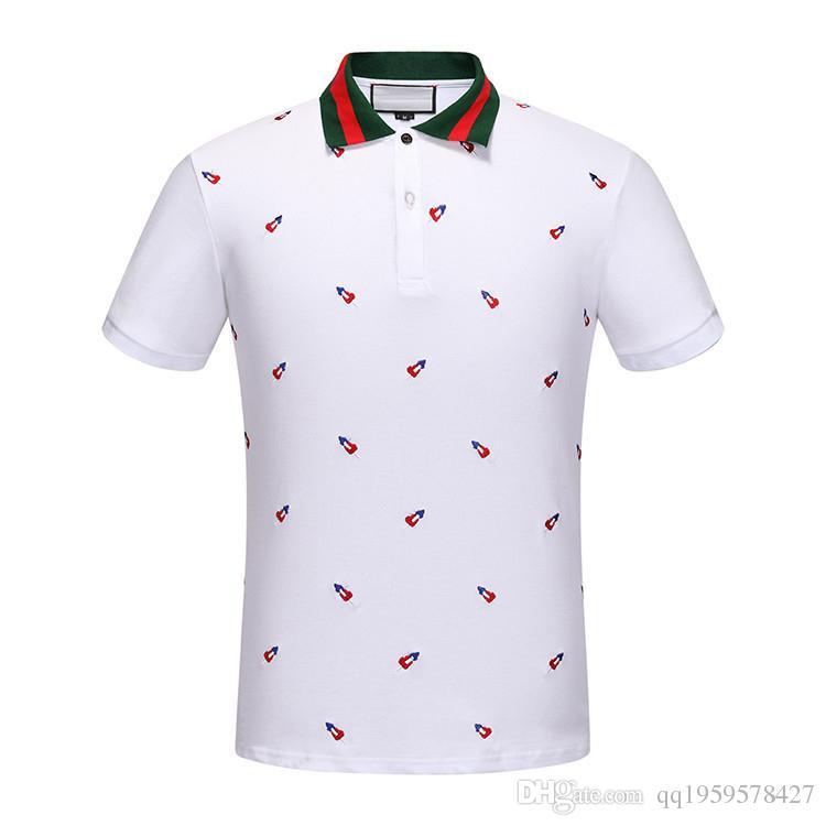 New arrivals fashion design polo shirt men brand