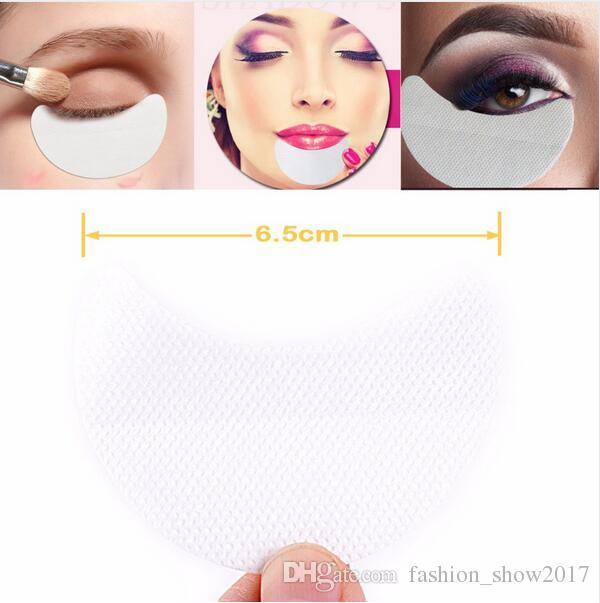 New Fashion Disposable Eyeshadow Pads Beauty Make Up Tools Eye Gel Makeup Shield Pad Protector Sticker Eyelash Extensions Patch