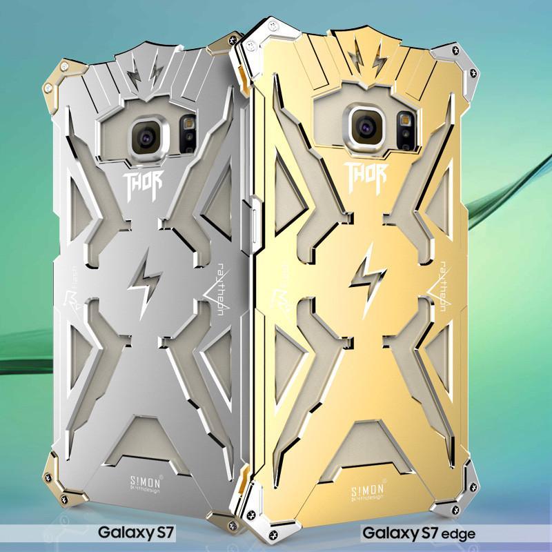 reputable site 82ef1 dd53b For iphone7 7plus Thor Iron Man Metal Aluminum Cases Punk Crash Proof  Bumper Case For iphone 6 6s plus Samsung Galaxy S6 S7 Edge DHL SCA120