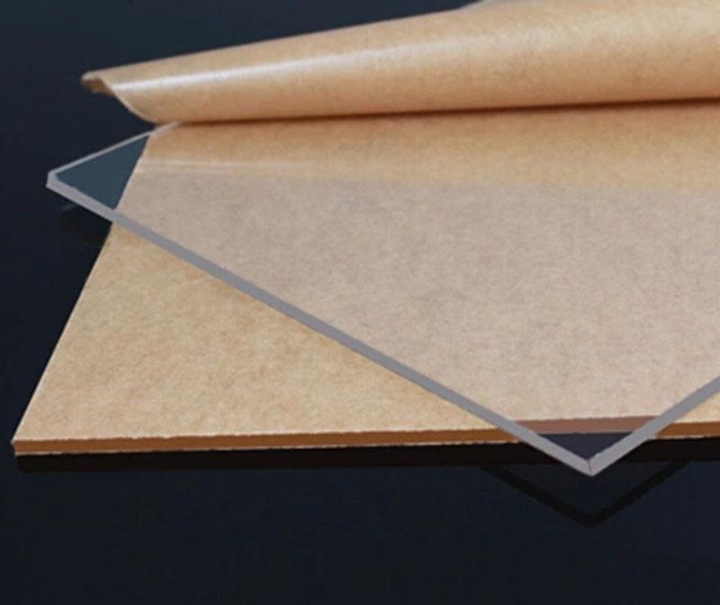 Compre 3mm * 200mm * 300mm Transparente Acrílico Claro Plexiglás ...