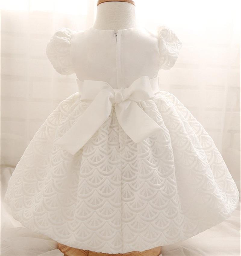 Großhandel Großhandels Weiße Baby Kleider Für Taufe Hochzeits Baby 1 ...