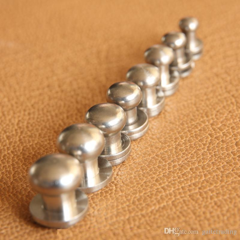 portafogli cintura di vite sacchetto Rivet Ciuccio pulsante monaco testa del chiodo di DIY cassa chiave borsa in pelle fatti a mano Chiodi decorativi parte hardware