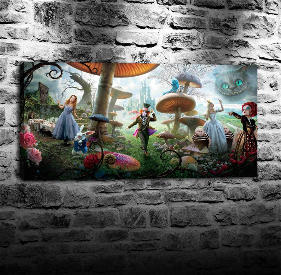 Exceptionnel 2018 Alice In Wonderland,Home Decor Hd Printed Modern Art Painting On  Canvas Unframed/Framed From Qq6241139, $12.07 | Dhgate.Com