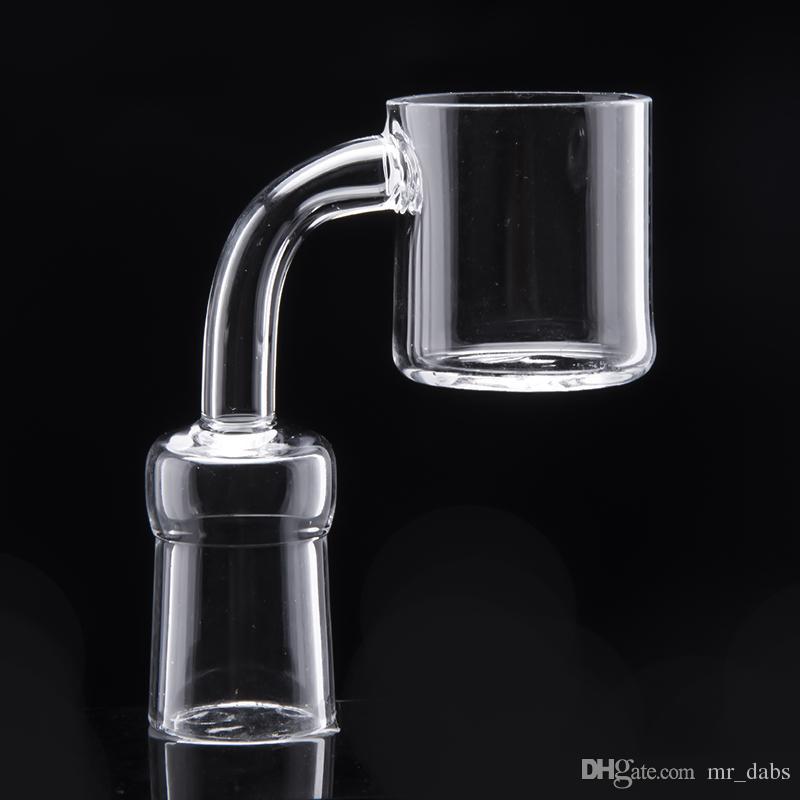 Mr_dabs кварцевый термический сосиска с полированным суставом 32 мм наружный диаметр qtz сосиска с плоской чашей для нефтяной вышки стеклянные бонги