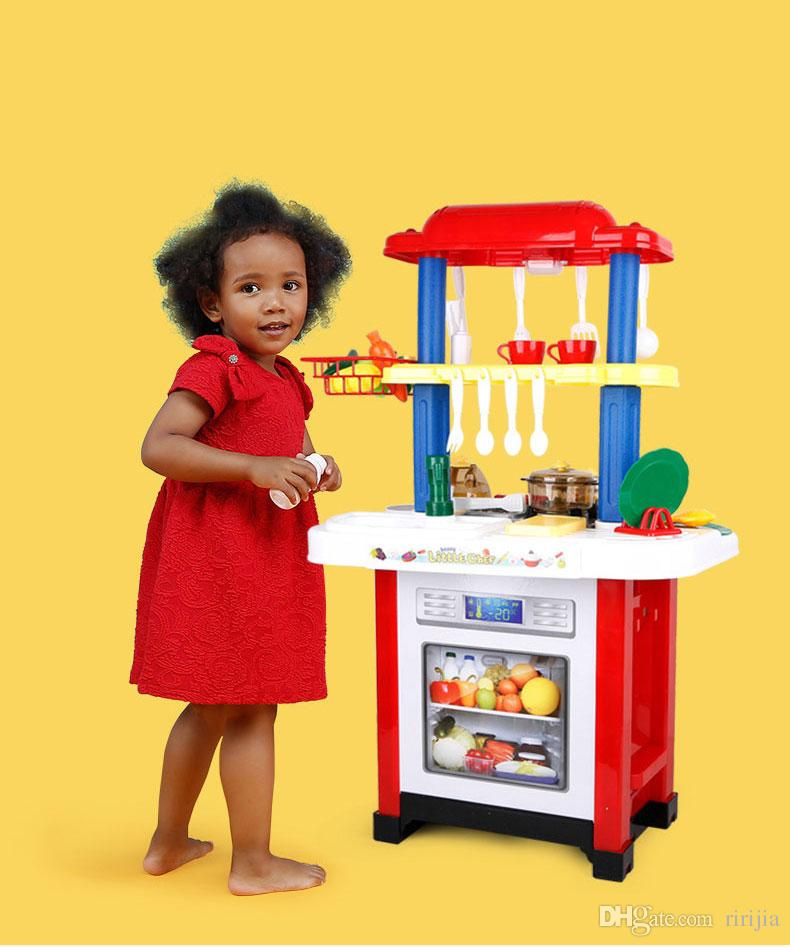 2019 Beiens Brand Toys Children'S Play Kitchen Set Kitchen