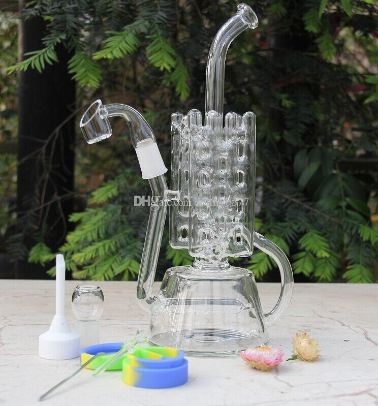 Bong! 710 oil rig New come glass bong recycler fab egg glass bongs water pipe Brand quality New oil rig dabber quartz nail