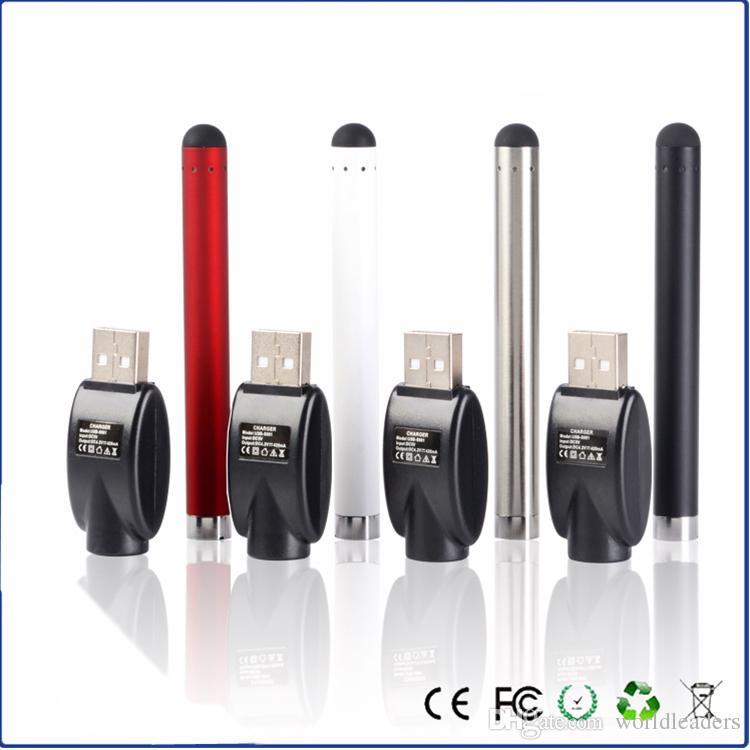 À venda ! O pen vape kit bateria e cigarro bateria 510 bateria de rosca para vaporizador de óleo grosso vaporizador tanque cartucho 280 mah broto toque