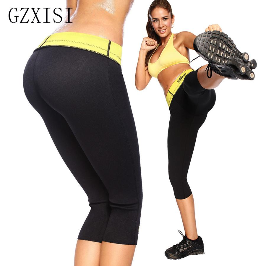 7cf19ee596 2019 Wholesale Hot Shapers Leggings Womens Neoprene Pants Slimming Plus  Size Pants For Women Neoprene Body Shaper Slimming Pants From Ario