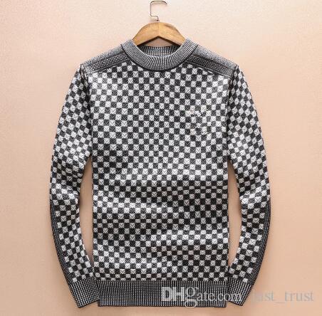 vendas Hot metade Casual zíper de jumper pulôver mais o tamanho dos homens Casual M ~ 3xl Famoso populares US Embroidey logotipo abelha camisola de caxemira dos homens de xadrez