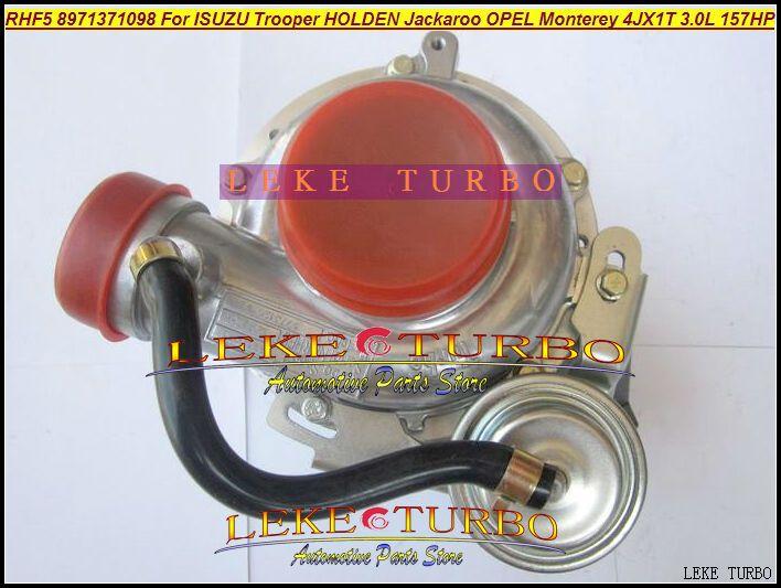 RHF5 8971371098 Turbo Turbocharger For ISUZU Trooper 1999-04 HOLDEN Jackaroo OPEL Monterey 4JX1TC 4JX1T 3.0L 157HP (1)