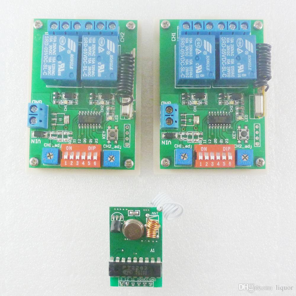 Arduino Demo Code Mcu Rf Wireless Transmitter Control Dc5v Timer 110v Power Controller Circuit Relay Receiver Dc Converter Remote Delay Time Online With