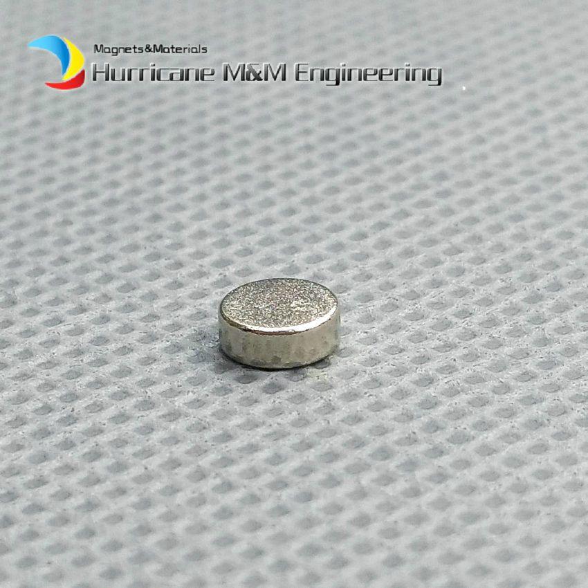 1 pack Diametre 5x2 mm environ 0,2 '' Petit Aimant Disc NdFeB Aimant Permanent Aimant Nodymium NiCuNi Aimant Axialement