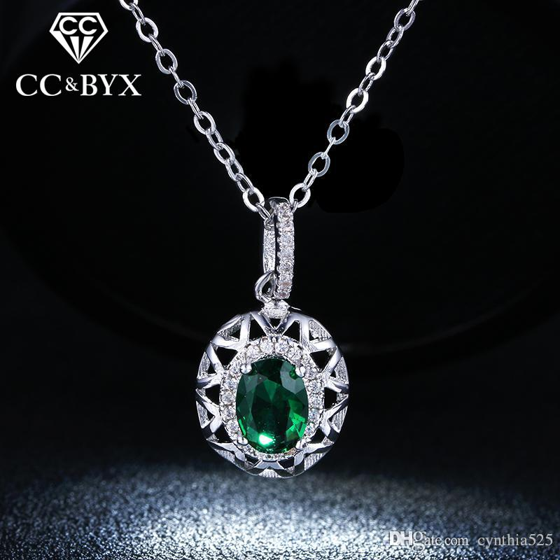 Wholesale cc jewelry wholesale fine green stone cz pendants necklace wholesale cc jewelry wholesale fine green stone cz pendants necklace for women shine crystal vintage jewelry necklace party wedding accessories n006 heart aloadofball Image collections