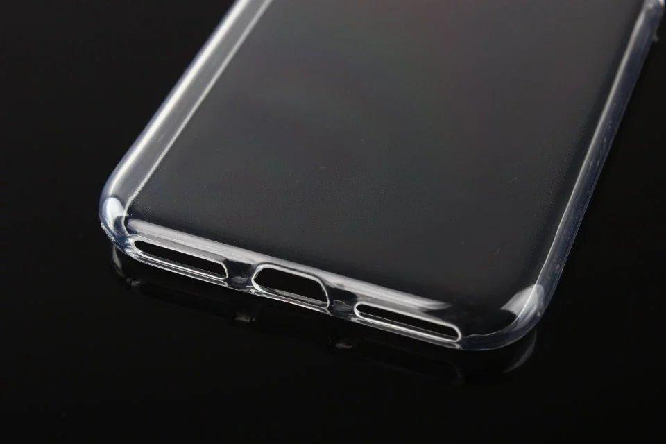 1.0mm Clear Cas pour iPhone 12 Samsung Note 20 Plus S20 Ultra A31 A21S M01 Couvre transparent ultra-transparent Soft TPU Silicone ultra mince