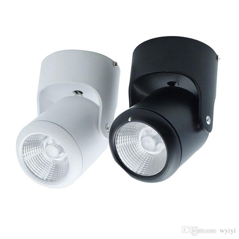 10W 20W Super Bright Spot Light 180 Degree Rotation Ceiling L& White / Warm White AC 85-265V Led Downlights Surface Mounted Online with $26.23/Piece on ...  sc 1 st  DHgate.com & 10W 20W Super Bright Spot Light 180 Degree Rotation Ceiling Lamp ...