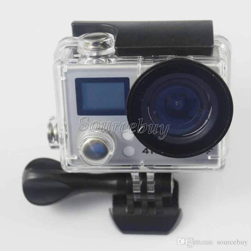 Ucuz Çift Ekran EKEN 4 K 30fps Eylem Kamera M8 V3 170 Derece Geniş Açı Wifi Su Geçirmez 30 M Spor Kamera Video DV + Uzaktan