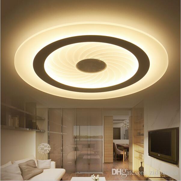 Großhandel Moderne Led Deckenleuchte Wohnzimmer Leuchtet Acryl Dekorative  Lampenschirm Küche Lampe Lampas De Techo Moderne Lampen Von Zidoneled, ...