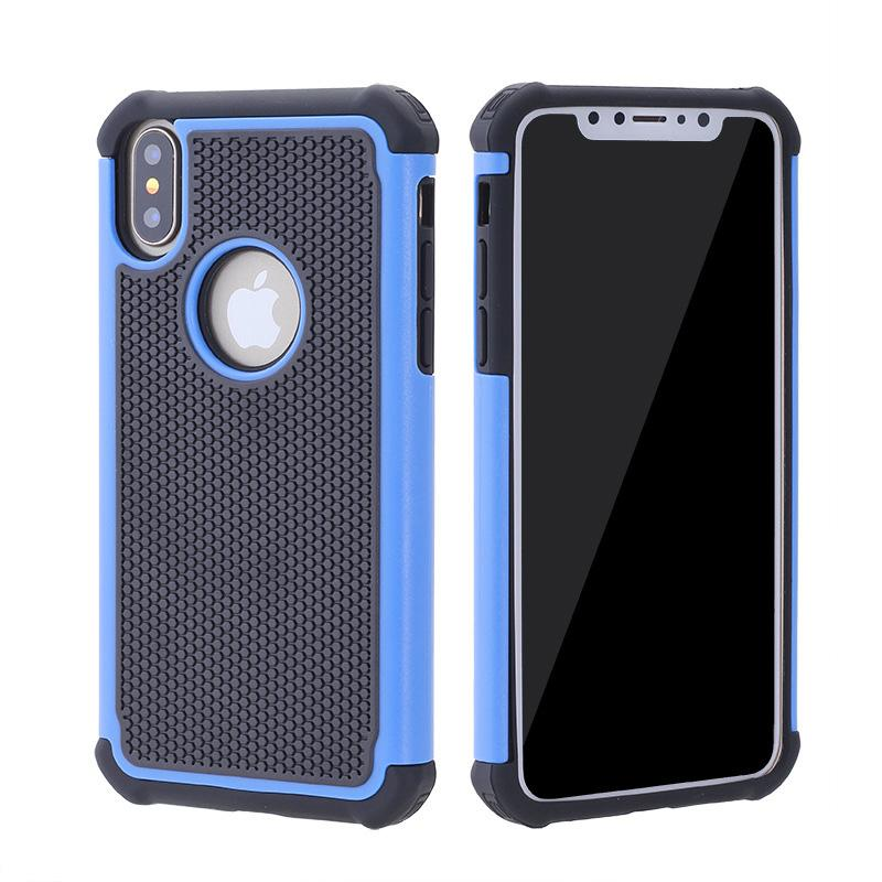 For iphone X 8 7 Plus Hybrid Case Rugged Impact Rubber Matte Shockproof Heavy Hard Case for iphone 5 6s 6plus iphone7 7plus SCA369