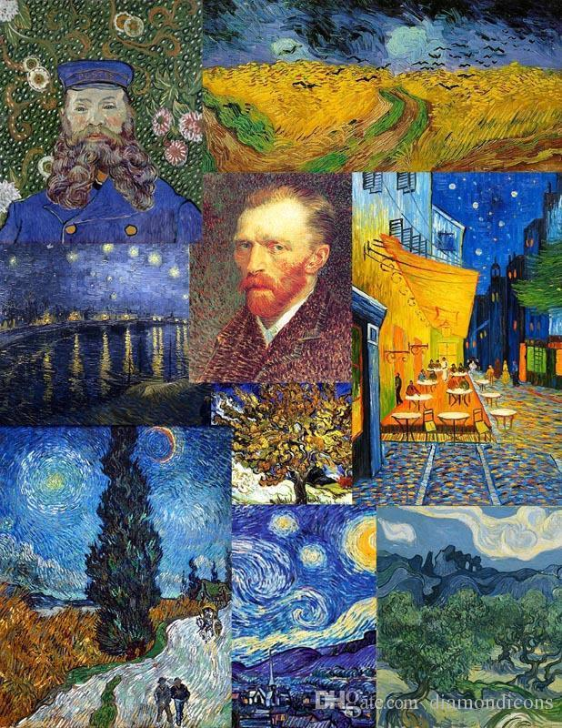 2018 Art Poster Vincent Van Gogh Artwork Paintings Collection ...