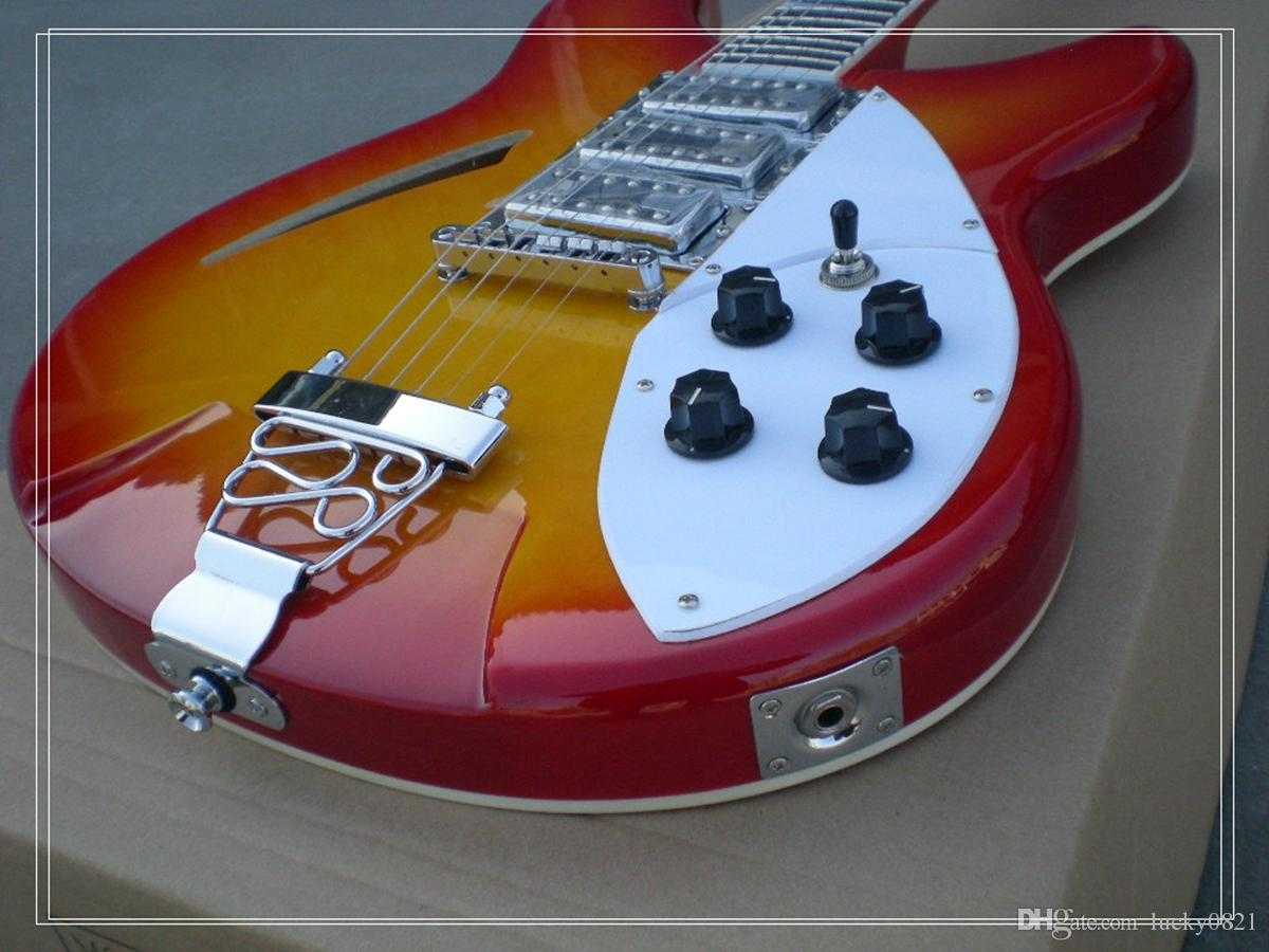 Sunburst 3 Pickups High Quality 6 strings Electric Guitar OEM Available Top Musical instruments Wholesale