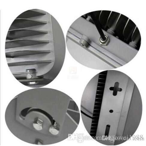 Led Projektörler 400 W 8LED Yüksek Güç Açık sel ışık Led Benzin Istasyonu Aydınlatma Su Geçirmez Sıcak Soğuk Beyaz Led Gölgelik Işıkları AC 85-277V
