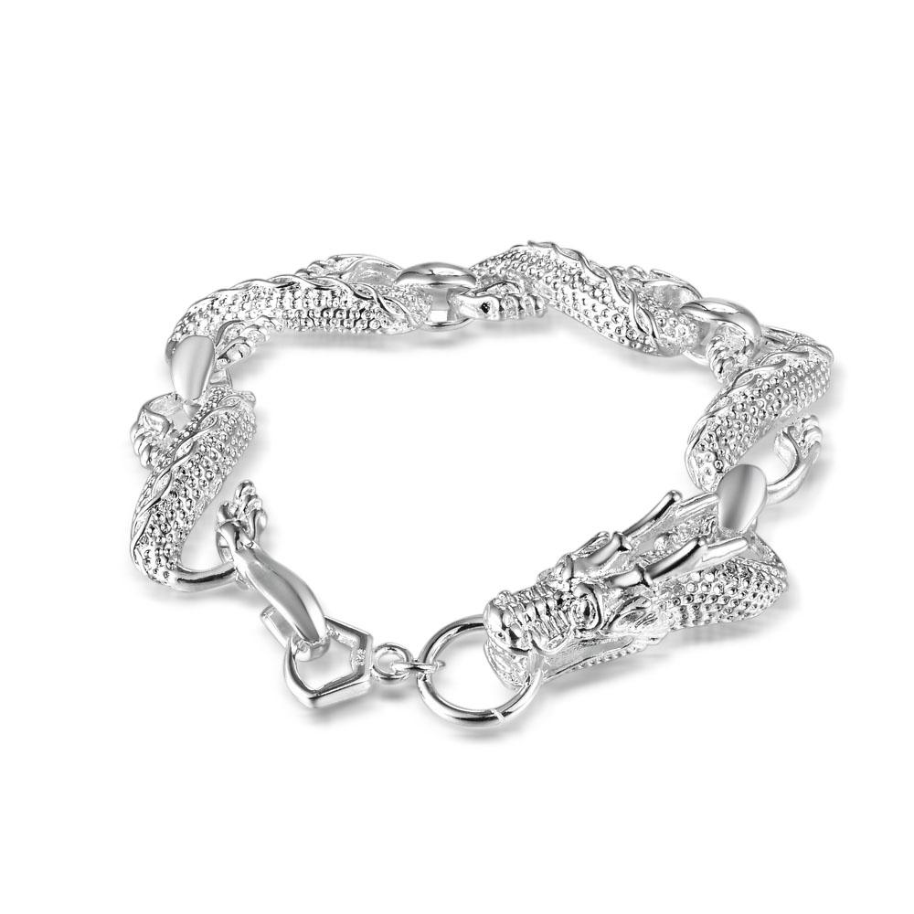 433f4d29e 2019 Factory Direct Outlet 925 Sterling Silver Dragon Bracelet Silver  Jewelry From Jieminglang, $22.08 | DHgate.Com