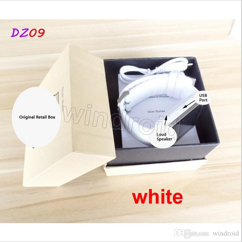 Cheapest DZ09 Bluetooth Smart watch for iPhone 6 6S 5 5S Samsung S6 Note 5 Android Phone Smartphones VS U8 GV18 retail box better