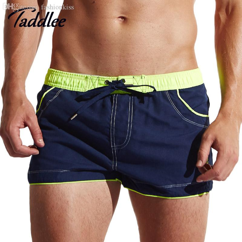 Wholesale-Taddlee Brand Mens Running Sports Active Shorts Trunks Cargo Gym Workout Jogger Boxers Men Sweatpants Basketball Fitness Casual