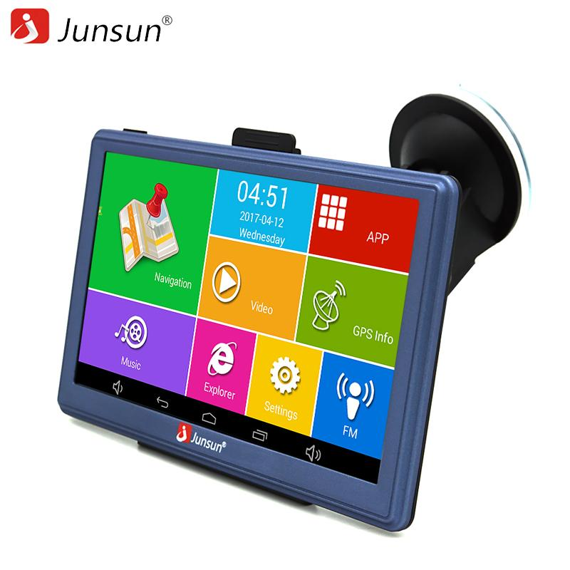 2018 junsun 7 inch car gps navigation android bluetooth wifi russia 2018 junsun 7 inch car gps navigation android bluetooth wifi russia naviteleurope map truck vehicle gps navigator sat nav free map from podofo fandeluxe Images