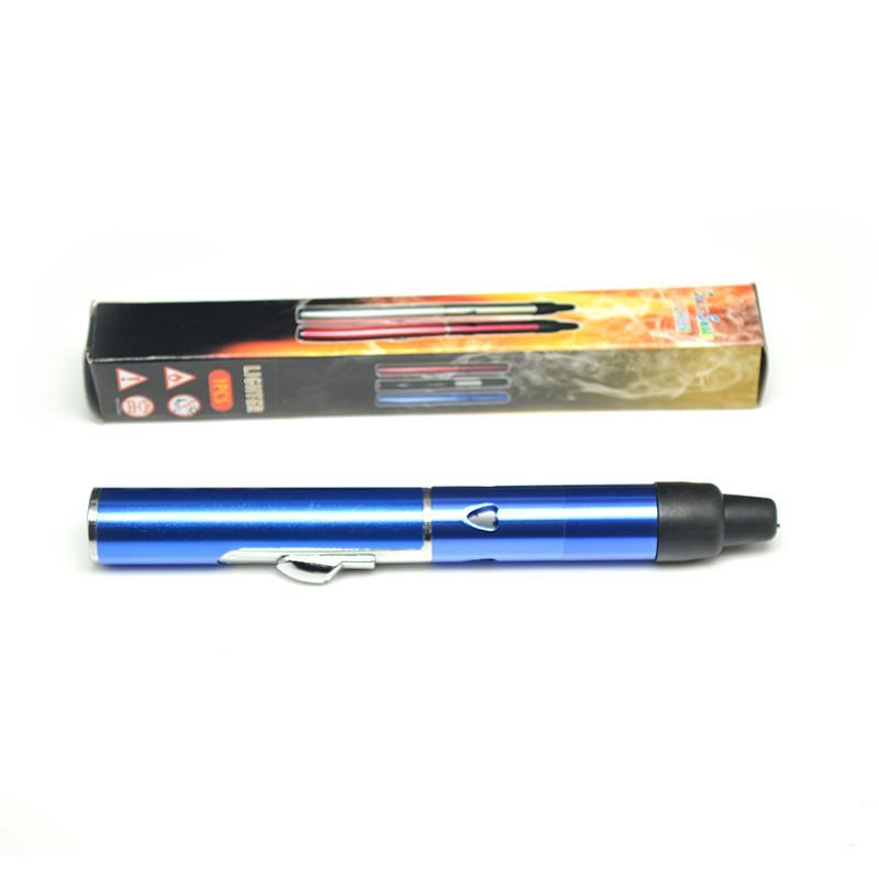 Clique N Vape sneak Um vape built-in Wind Proof Tocha Tubos de metal mais leves para fumar Herbal vaporizador portátil para o tabaco de erva seca com caixa