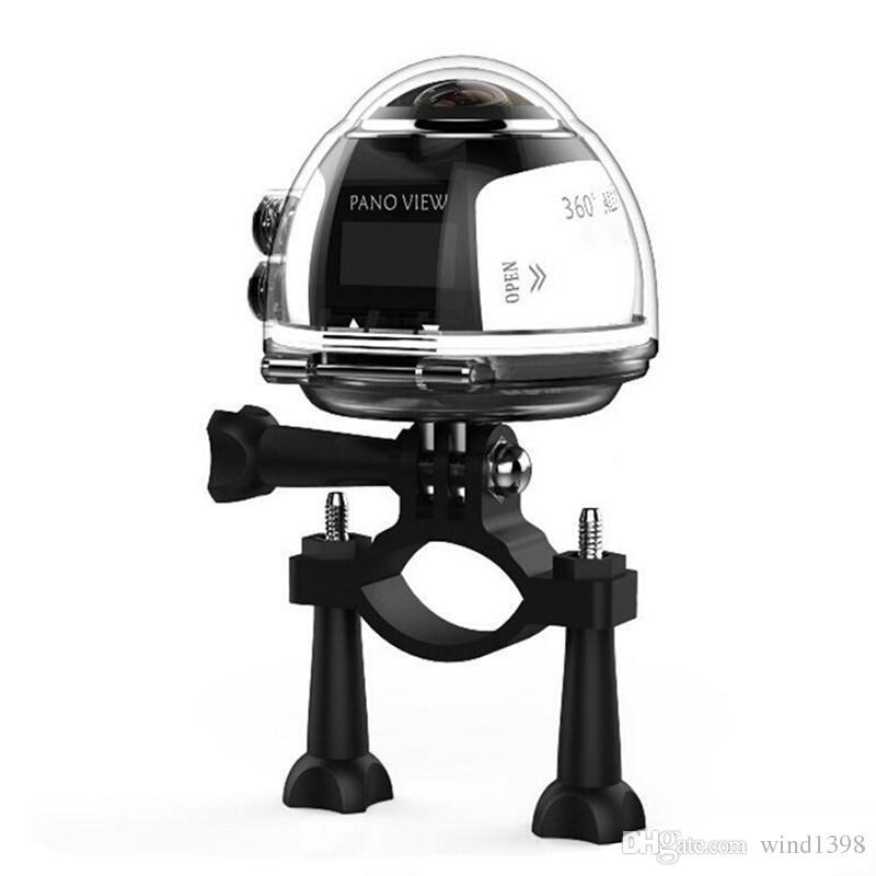 Yüksek kaliteli V1 360 derece panoramik spor kamera mini 3D wifi spor DV 4 K full HD 30 m su geçirmez açık eylem video kameralar