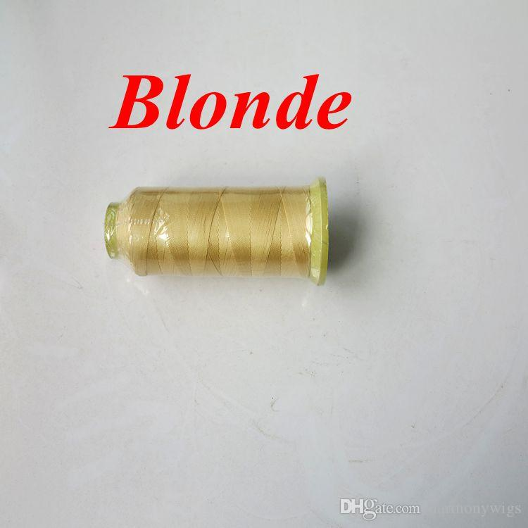 Nylon hair weaving thread sewing thread for weaving hair Professional hair extensions tools more colors Optional