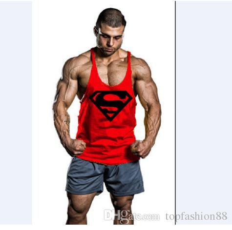 c8441569c437d 2019 Men S Crimping Print Bodybuilding Gym Tank Tops For Men Plus Size  Cotton Muscle Sleeveless Shirts Tanks Sports Fitness Vests XXL From  Topfashion88