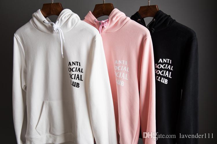 best deals on 3cbe2 75a7f 2019 Autumn Boy London ASSC Anti Social Social Club Hoodie Men Women Brand  Clothing Top Quality GD Kanye West Hoodie Sweatshirt From Lavender111, ...