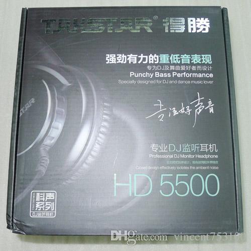 Heiße Takstar HD-5500 Hallo Fi Dynamische Stereo Kopfhörer Kopfhörer Professionelle Audioüberwachung Für PC DJ Music Studio 3,5mm stecker