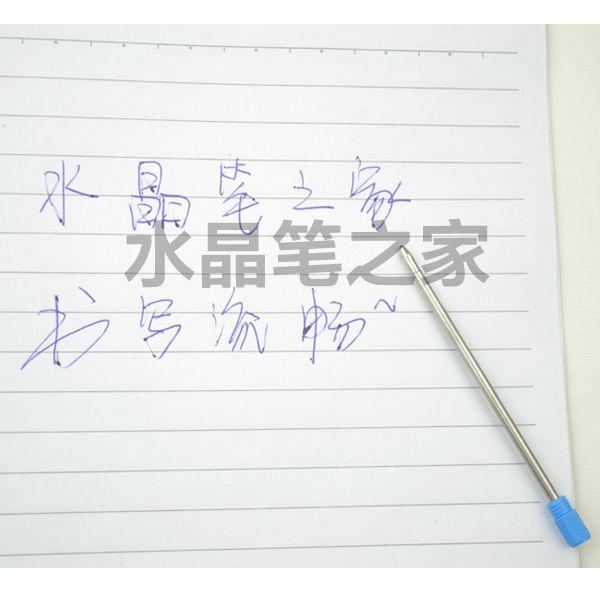 70MM طويلة قلم حبر جاف نقطة عبوات معدنية صغيرة عبوة
