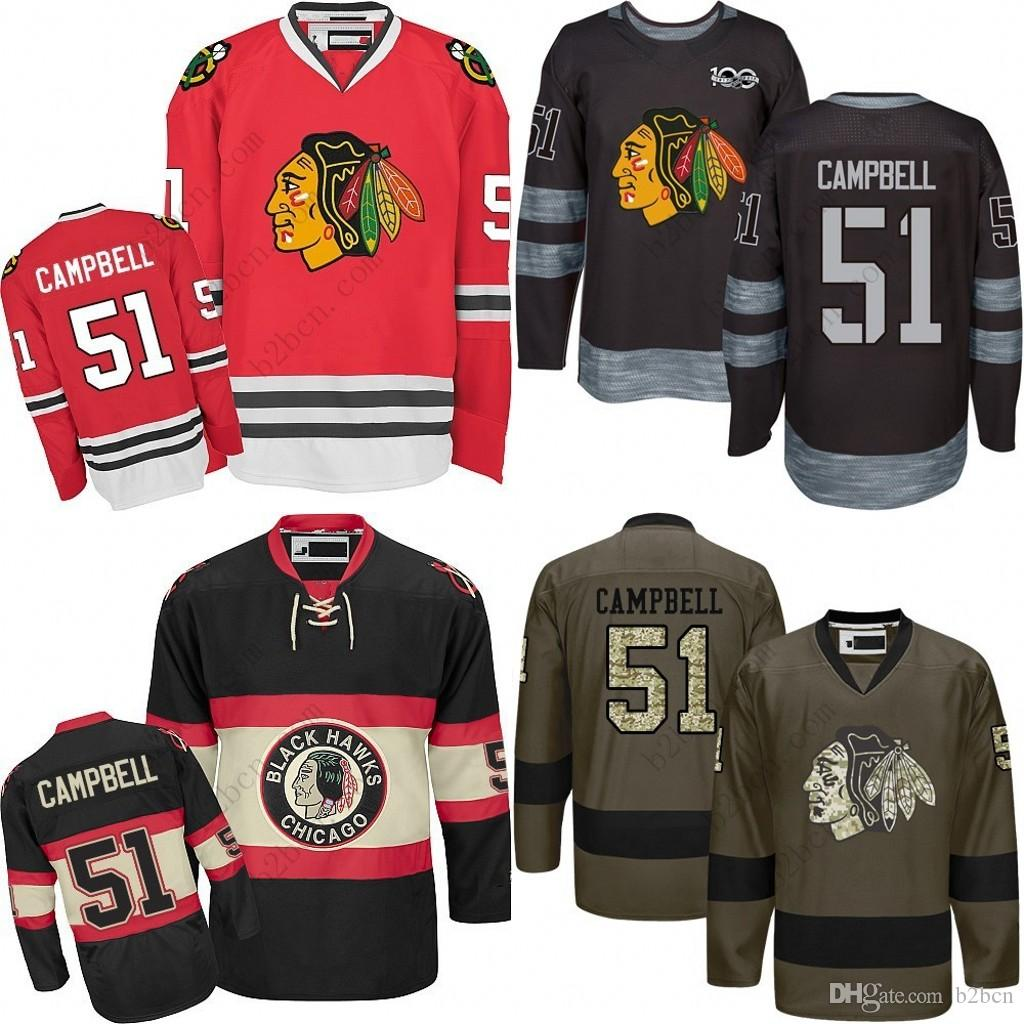 5b66998d0d3 ... spain 2018 2017 mens chicago blackhawks 51 brian campbell d2017 winter  classic premier red white away