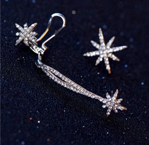 귀걸이에 클립있는 절삭 여성 보석 귀에서 귀걸이 나사 패션 스타 귀 팔목 유행 성격 럭셔리 클립 귀걸이 클립