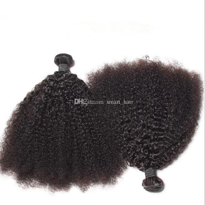 Hot Selling Brazilian 9A Afro Kinky Curly Human Hair Bundles Unprocessed Kinky Curly Hair Weaves 3 Bundles For Black Woman