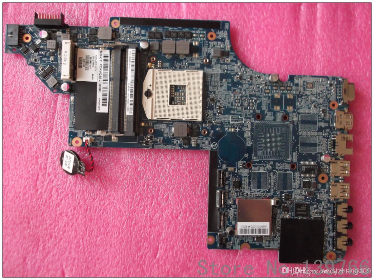 665990-001 para HP pavilion DV7 DV7T DV7-6000 placa base para portátil con chipset Intel DDR3 hm65