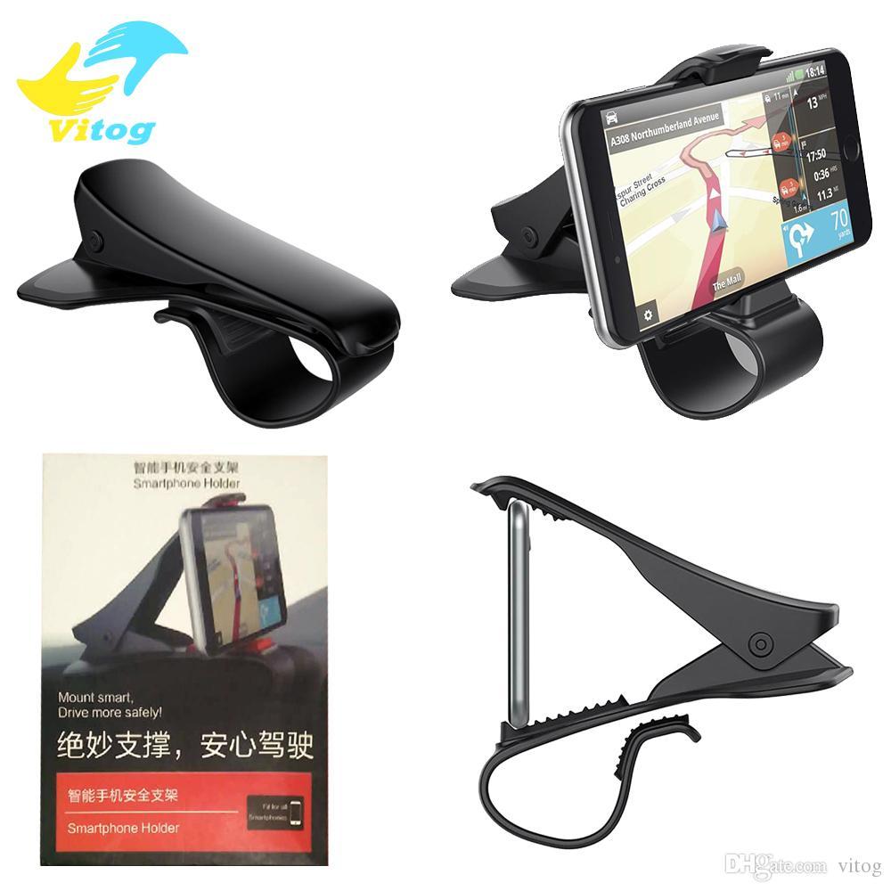 Universal Car Mount Holder Simulating Design Phone Cradle Remax Super Flexible Adjustable Dashboard For Safe Driving Vehicle