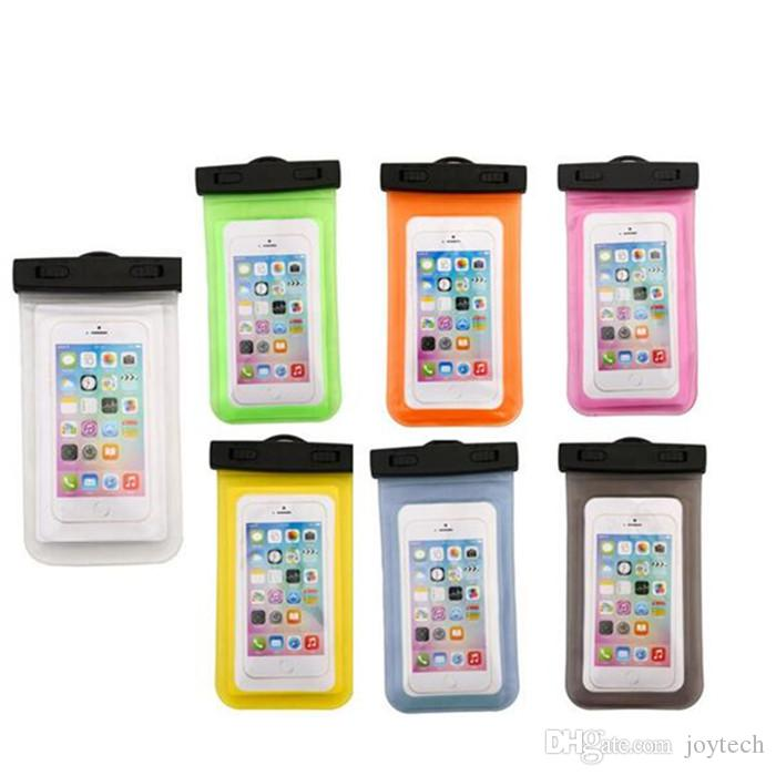 Wasserdichte tasche case universal klar wasserdichte tasche unterwasser abdeckung fit für alle smart handy unter 5,8 zoll iphone samsung