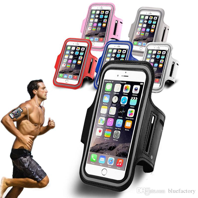 classic fit e4ee5 269cc For iphone X 8 7 Sport Running Armband Case Workout Holder Pouch Antistatic  Waterproof phone Bag Cover For iphone 7 8 plus 6s Samsung S7 S6