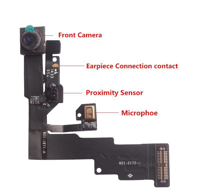 Iphone Proximity Sensor : Facing camera for iphone light proximity sensor flex