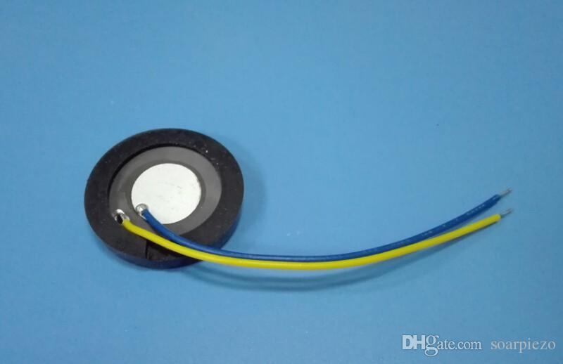 25mm * 1.7 MHz Bevel Ultrasonic Atomization Chip Board Sensor Especial Umidificador de Membrana Acessórios Nebulizador Aço Inoxidável Criador de Névoa