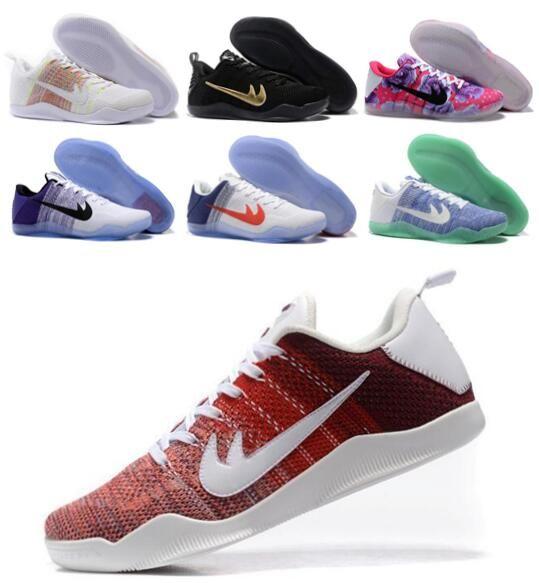 New Kobe 11 Basketball Shoes Sneakers Mens Man Zapatos Bryant Kobes IX  Elite Sports KB 11s EP Trainer Basketball Shoe Size 7 12 Basketball Shoe  Men Shoes ... 9aa16bc8c
