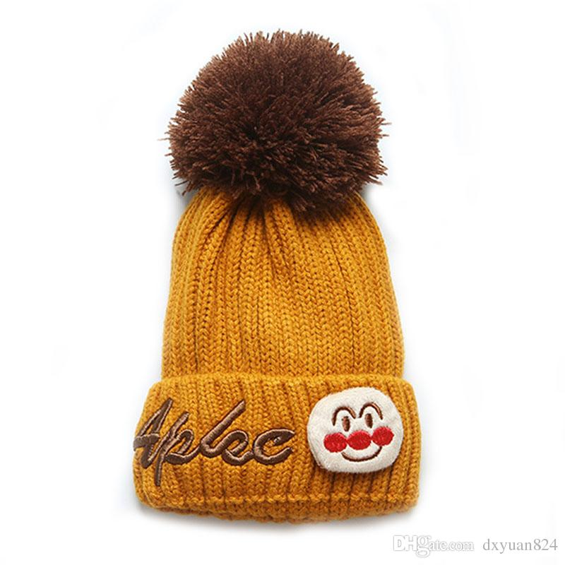 fc73fdd482b Kids Snowman Embroidered Knit Beanie Hats Boys Girls Cold Weather Warm Cuff  Winter Cap Cute Top Pom-pom Perfect Christmas Gifts Kids Snowman  Embroidered ...
